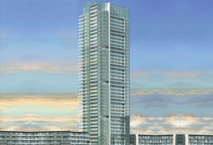 The Grand Residences at Parkside Village rendering 1