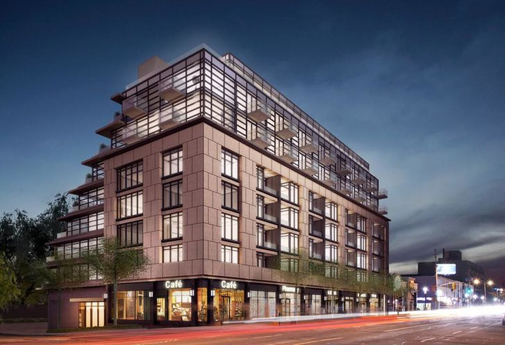 The Hill Condos rendering 1