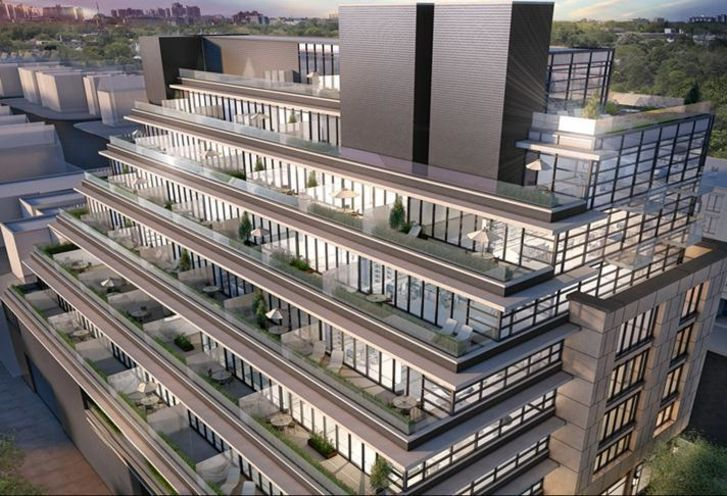 The Hill Condos rendering 2