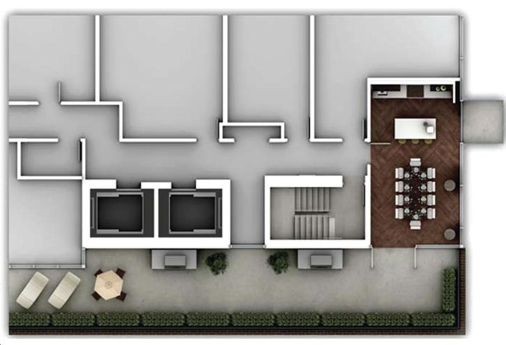 The Hill Condos rendering 5