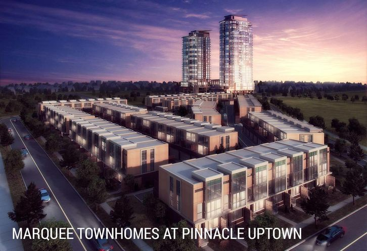 The Marquee Townhomes rendering 1