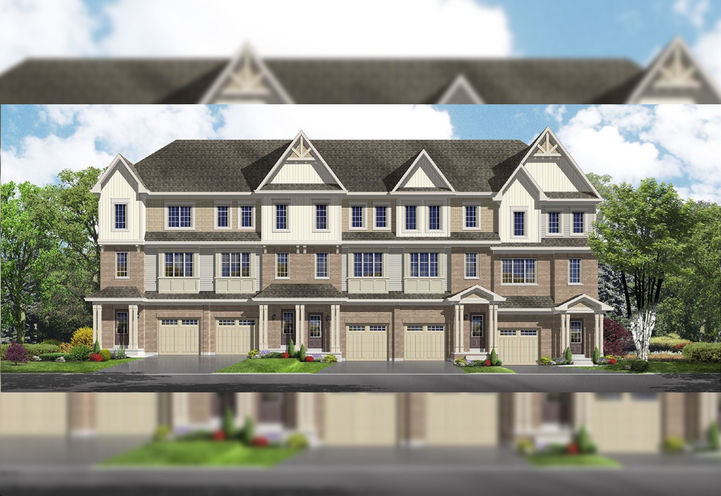 Orchards Enclave Towns Exterior Townhouses A