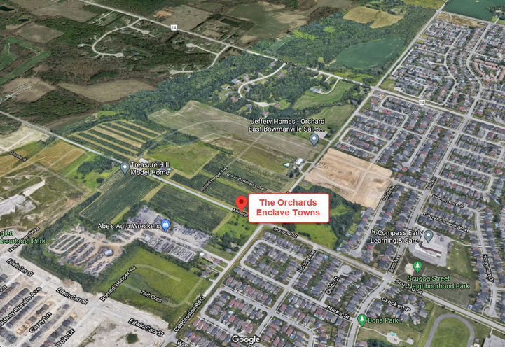 Orchards Enclave Towns Upcoming Site Location