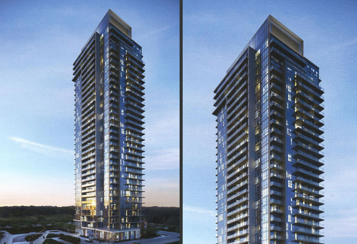 The Peak Condos at Emerald City Rendering