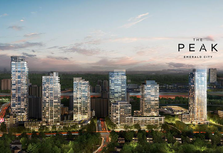 The Peak Condos At Emerald City Plans Prices Reviews