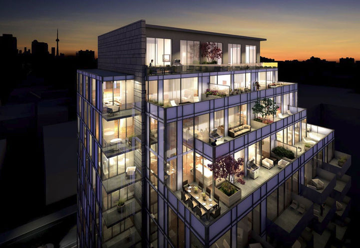 The Perry Condos by Mansouri Living