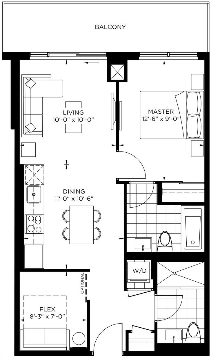 The Point Condos Emerald City By Elad Nicholson Floorplan