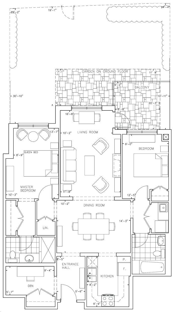 The Residences Of Spring Hill By Buttcon Caspian Floorplan 2 Bed 2 Bath