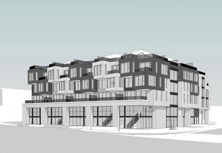 The Stockton Condos Early Rendering