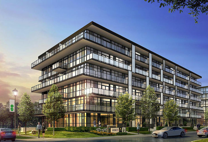 The West Condos at Stationwest Exterior Rendering