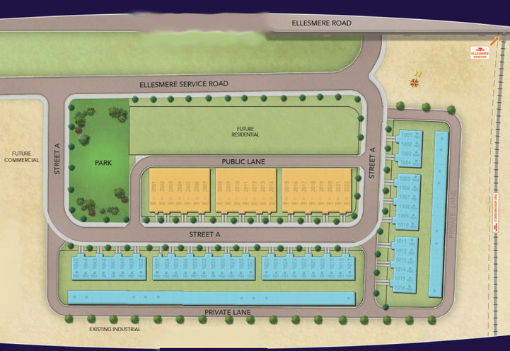 Site Map Location for Thomson Towns 2
