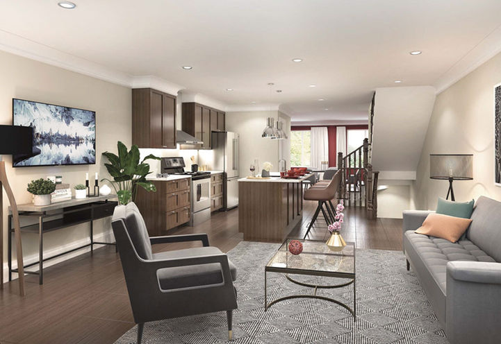 Suite Interior Features and Finishes at Total Towns