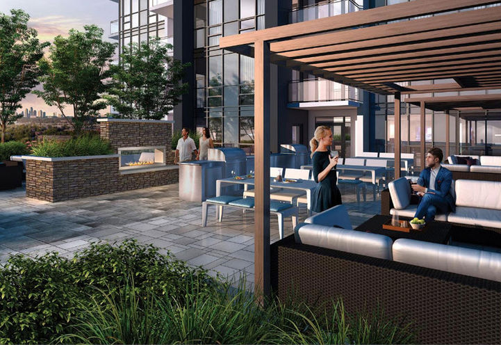 Rooftop Terrace at Tricycle Condos