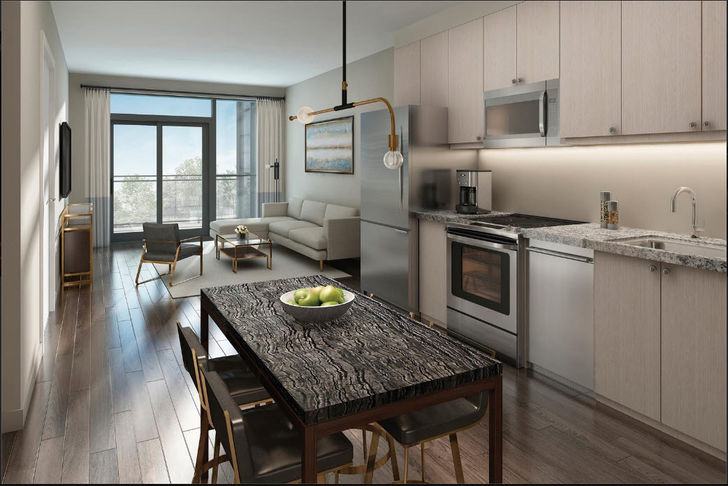 Suite Interior Features and Finishes at Tricycle Condos