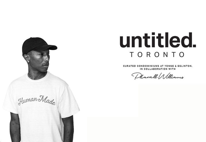 Pharrell Williams for Untitled Toronto North Condos