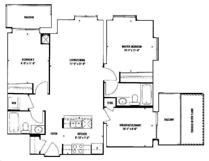 Upside down condos floor plans thecarpets co for Upside down house floor plans