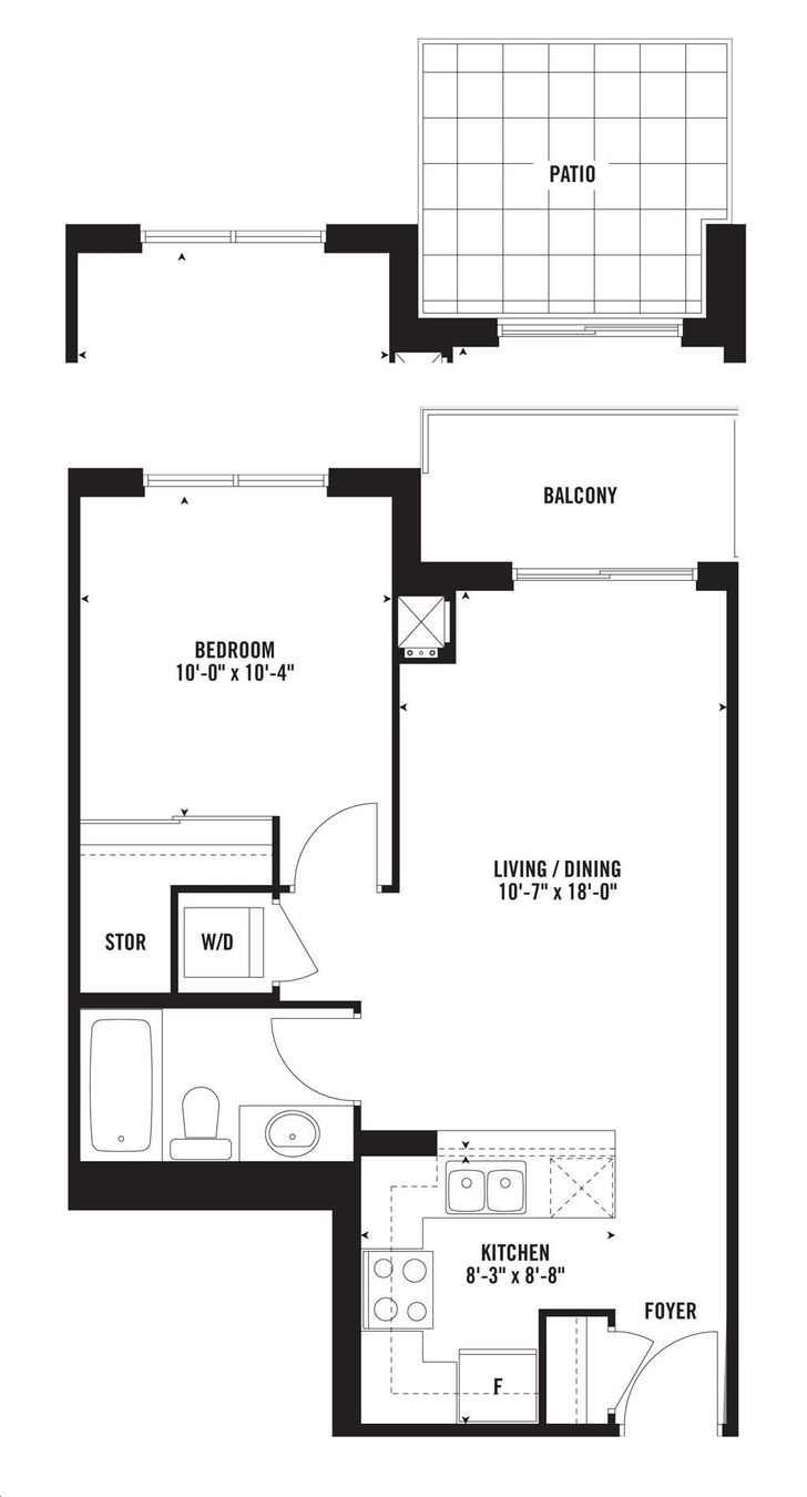 Upside down condos floor plans thecarpets co for Upside down house plans