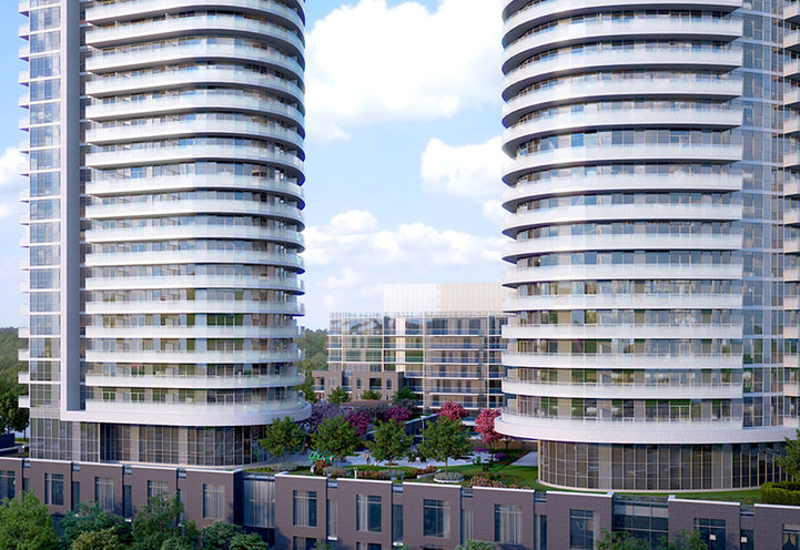 Valhalla Town Square Condos by Edilcan Developments