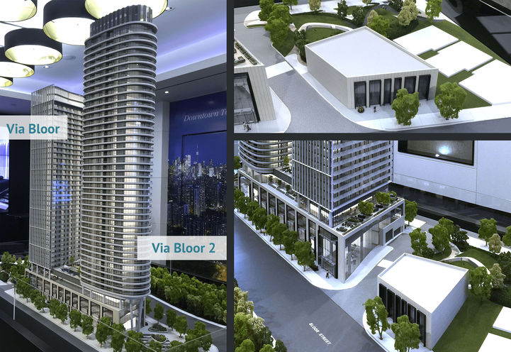 Via Bloor 3D Model at the Presentation Centre