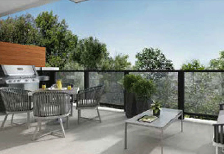 Village Homes on the Avenue Towns, Rooftop Terrace with Barbecue Pad