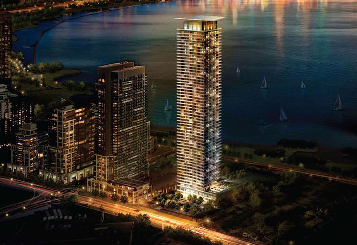 Water's Edge at the Cove rendering 1