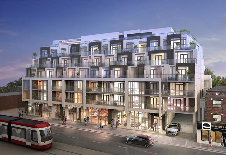 WestBeach Condos, 1630 Queen St E, Toronto, ON at Coxwell & Woodbine