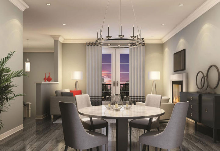 Suite Interior Features and Finishes at Westhaven Towns
