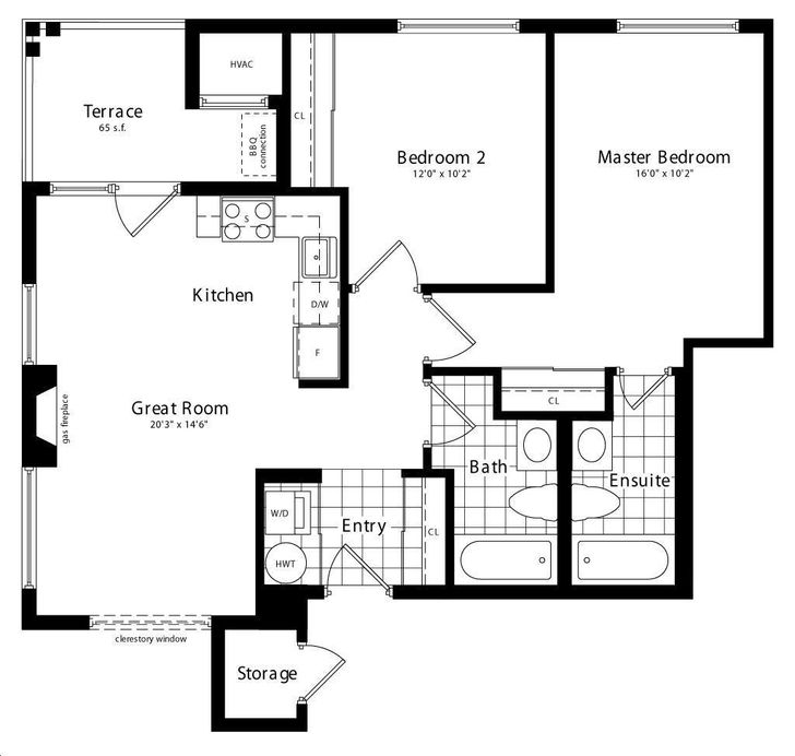 Wyldewood Cove By Brandy Lane Diamond Floorplan 2 Bed Amp 2