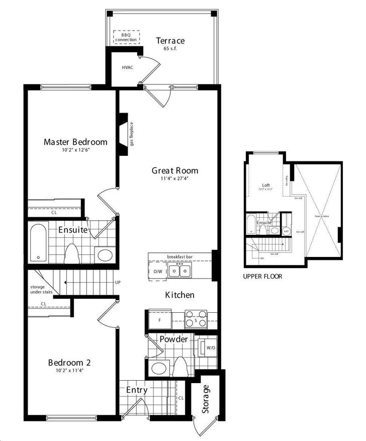 Wyldewood Cove By Brandy Lane Superior Floorplan 2 Bed